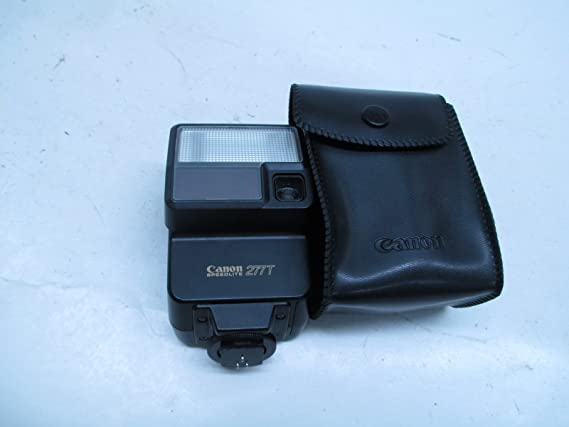 A Series and F1 Cameras Circa: 1983 Excellent Condition! Vintage CANON SPEEDLITE 277T Dedicated Flash Unit for Canon T Series