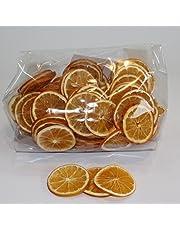 Secos rodajas de naranja