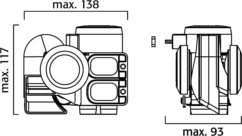 Fl/össer 11690122/Compressor Fanfare