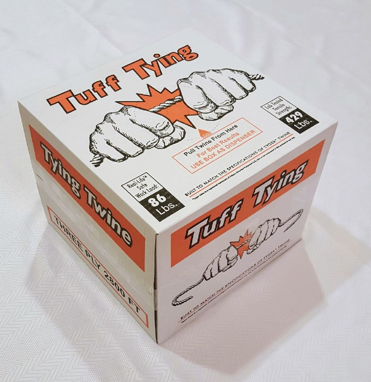 480 Lb Tensile 2800 Ft. 3 Ply Tyger Polypropylene Tying Twine