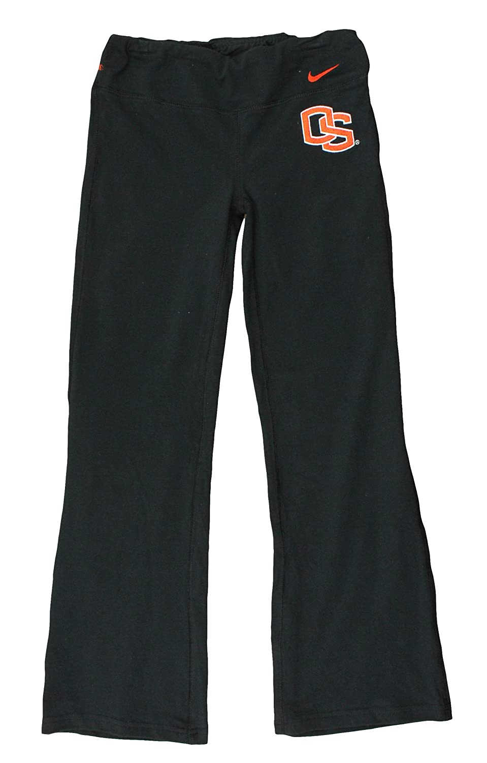 Nike NCAA Big Girls Youth Oregon State Beavers DriFIT Athletic Yoga Pants, Black