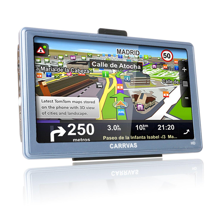 CARRVAS Navegador GPS para Coche, 7