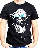 Star Wars Dj Yoda Cool - T-shirt - Imprimé - Col rond - Manches courtes - Homme