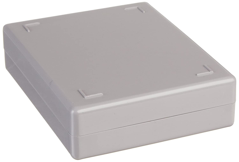 Eisco BI0114B Slide Box, Polystyrene, 25 Slides