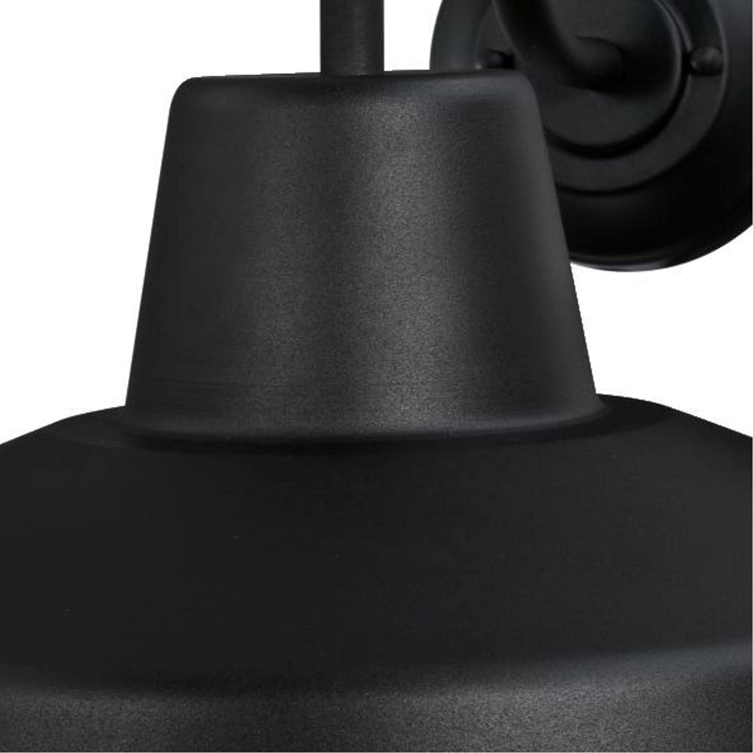 Textured Black Finish with Chrome Cage Indoor Westinghouse Lighting 6204700 Academy One-Light LED Outdoor Wall Fixture