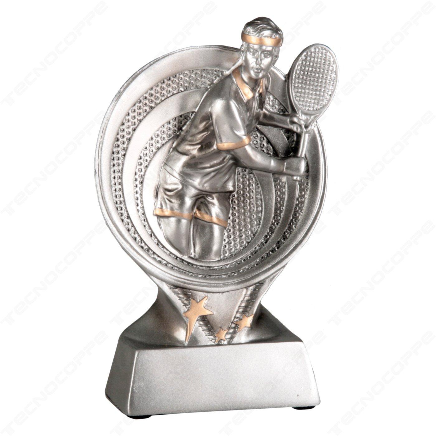 Tecnocoppe - Trofeo de tenis, 15,50 cm de altura, para entrega de ...