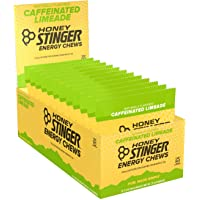 Honey Stinger 12-Packs of 1.8 Ounce Limeade Organic Energy Chews
