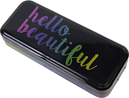 The Color Workshop The Color Workshop – Hello Beauty on the go – Estuche de maquillaje – Cruelty Free – Sombras de Ojos – Blush – Highlighter – Poudres – Pinceles: Amazon.es: Belleza
