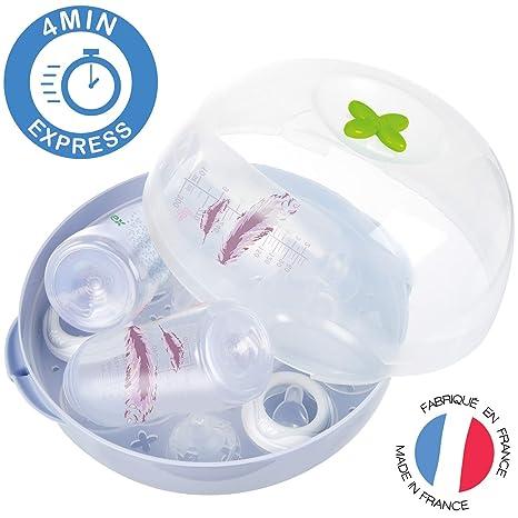 Tigex Esterilizador de botellas para microondas