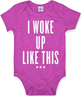 product image for Hank Player U.S.A. I Woke Up Like This Baby Onesie