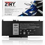 ZTHY New 62WH 6MT4T Laptop Battery Replacement for Dell Latitude E5470 Latitude E5570 Pricision 3510 Notebook PC, fits 7V69Y TXF9M 0C1P4 79VRK 07V69Y 451-BBUN 451-BBTW 7.6V 4Cell