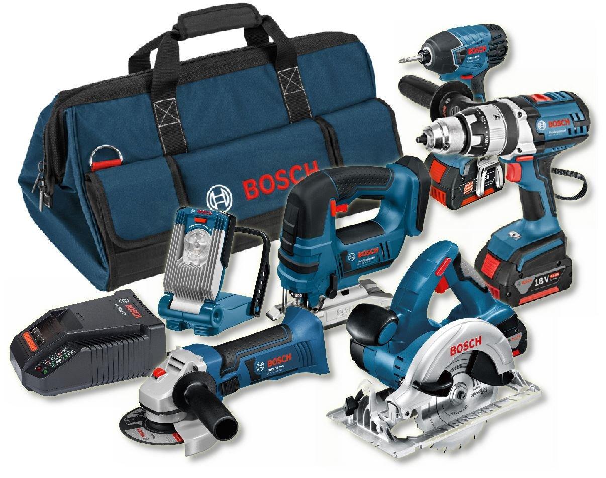 bosch professional 18 v heavy duty power tool kit and bag 3 x 4 0 ah 3165140803694 ebay. Black Bedroom Furniture Sets. Home Design Ideas