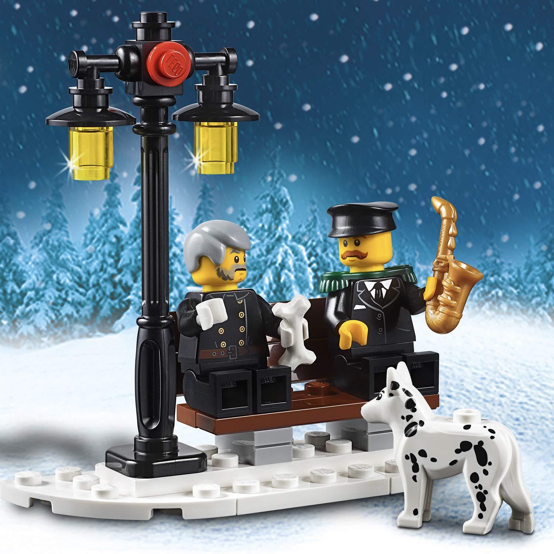 LEGO Creator Expert-Parque de Bomberos navideño, Divertido Juguete de construcción con Edificio (10263): Amazon.es: Juguetes y juegos