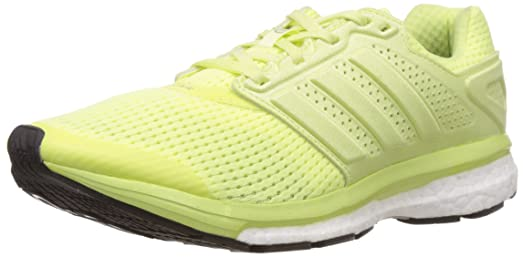 adidas Supernova Glide 7 Womens Running Sneakers / Shoes-Yellow-5.5
