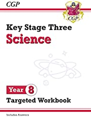 New KS3 Science Year 8 Targeted Workbook (with answers) (CGP KS3 Science)