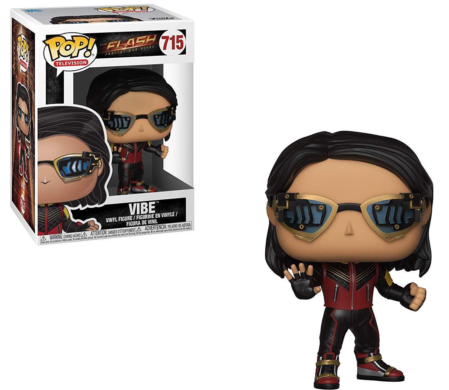 DC Comics: The Flash TV Series Includes Pop Box Protector Case Vibe Vinyl Figure Funko Pop