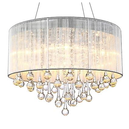 TangMengYun Lámpara Colgante De Cristal Moderna, Lámpara De Techo Colgante Decorativa, Lámpara De Sala