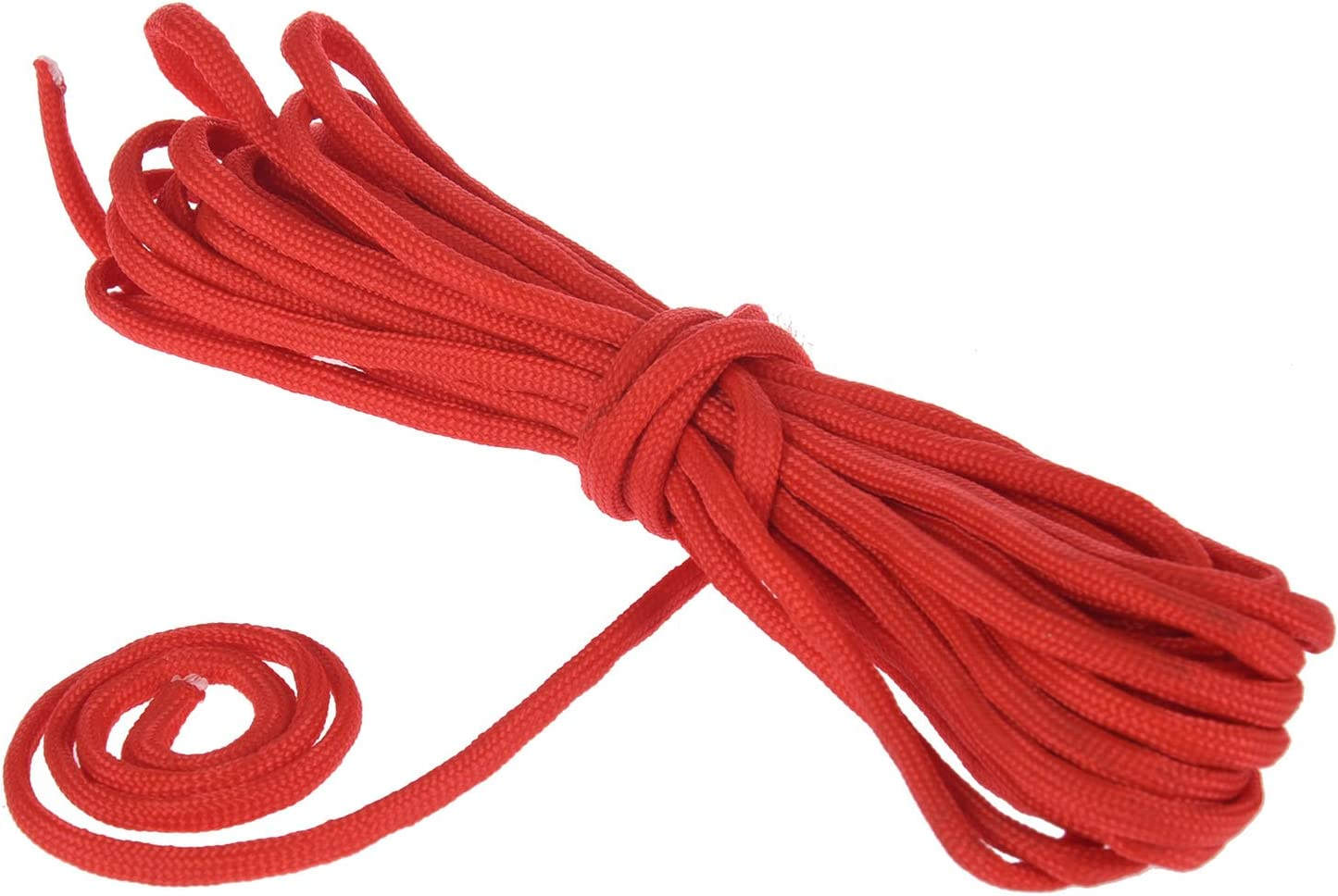 Jaimenalin Paracord 550 Parachute Rope 7 Core Strand for Climbing Camping Buckle Rope Red 25FT