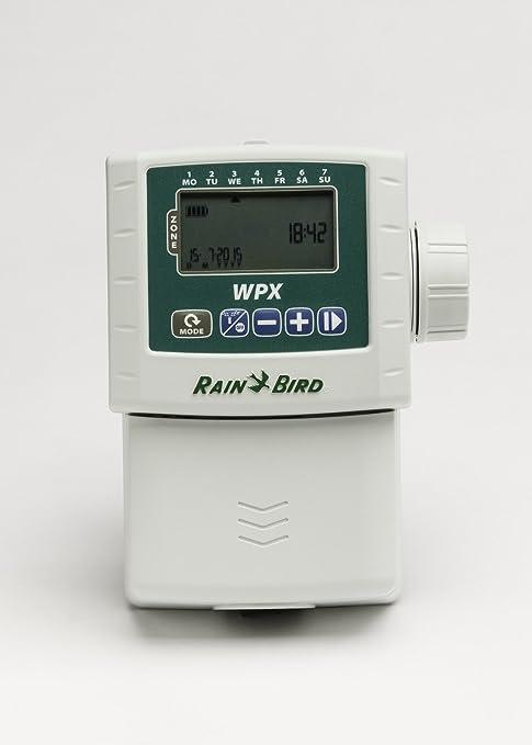 Rainbird Wpx 9v Centralina A Batteria 1 2 4 6 Zone Selezionabili Sistema Computerizzato Per L Irrigazione