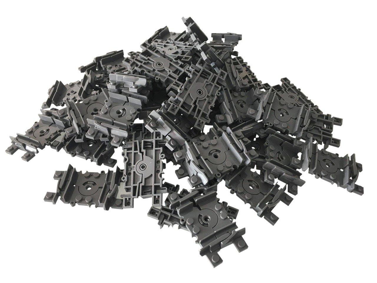 LEGO Duplo 1x Schranke Eisenbahn Schiene Bahnübergang schwarz weiss rot 6405c02