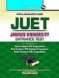 JUET - Jammu University Entrance Test Guide (for PG Programmes/PG  Diploma Programmes/UG Programmes)