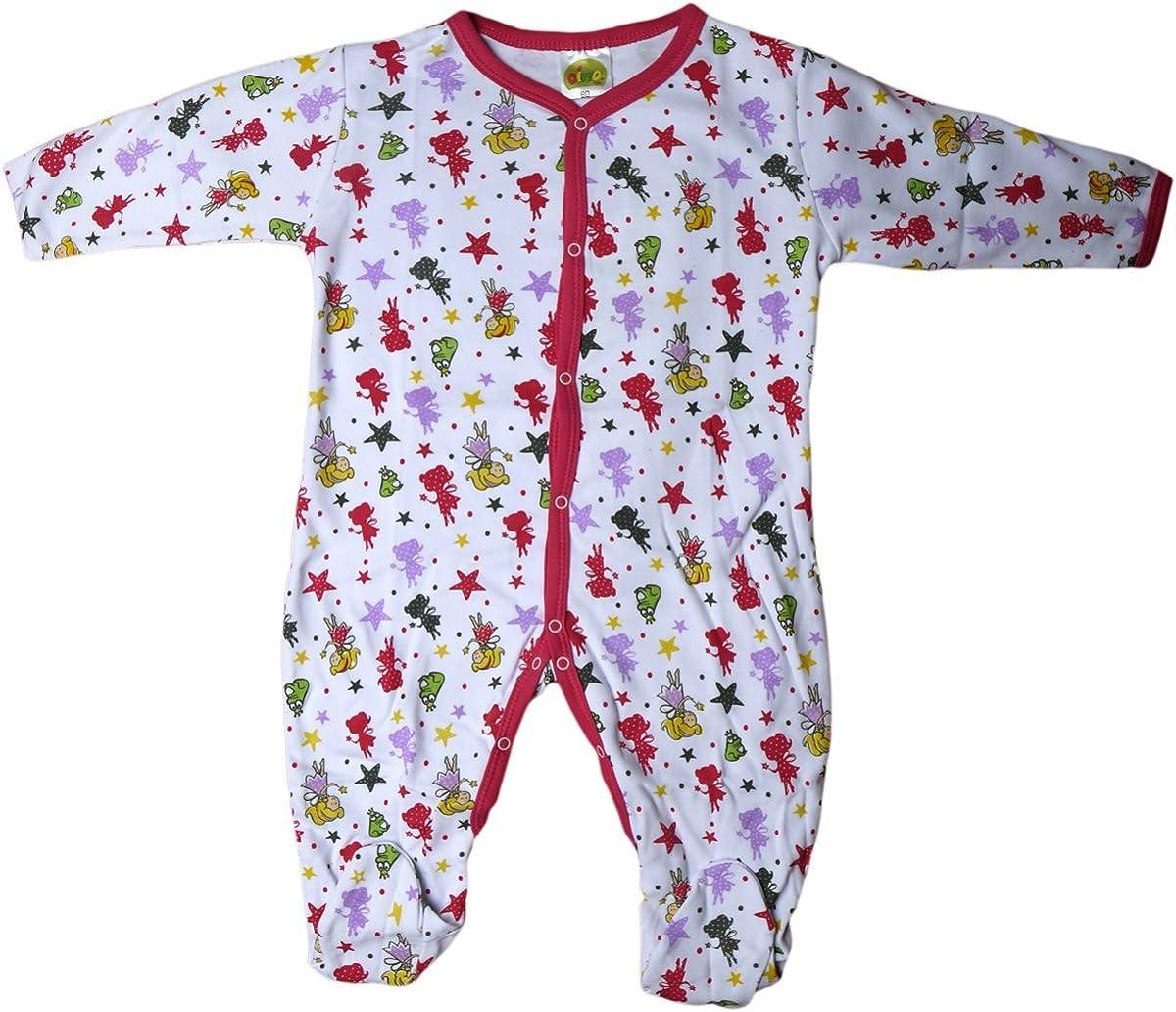 Einteiler//Pyjama//Schlafanzug//Strampler Pink//Wei/ß//Mehrfarbig Der Froschk/önig