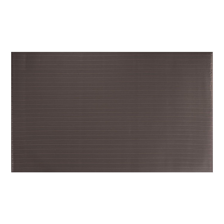 "AmazonBasics Anti-Fatigue Mat Single-Layer Foam Ribbed 3/8"", 2X3 Black"