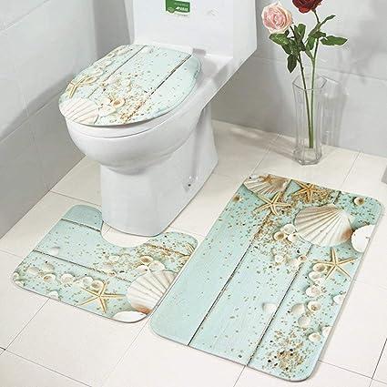 Bathroom Rugs That Absorb Water.Amazon Com Bath Rug Mats Set 8 Piece Non Slip Absorbing Water