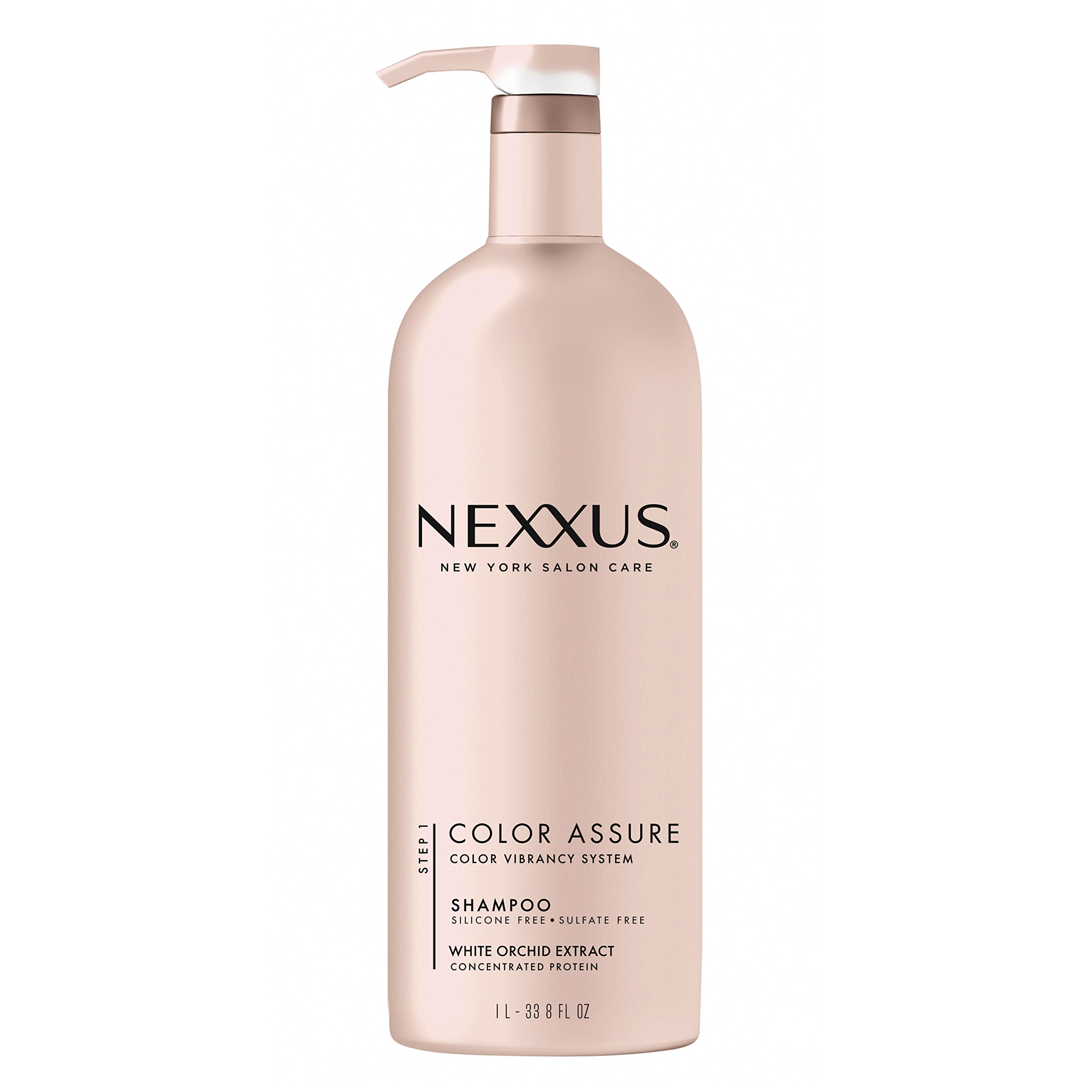 Nexxus Color Assure Shampoo, for Color Treated Hair, 33.8 oz