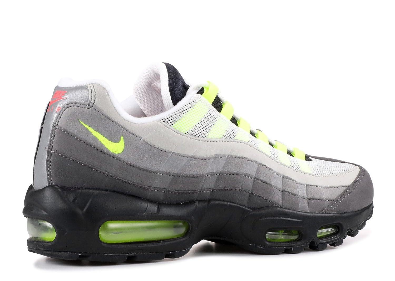 on sale 61794 8bc27 Nike Air Max 95 OG QS Greedy Black Volt Safety Orange Size 9 810374-078   Amazon.ca  Shoes   Handbags