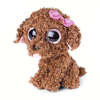 Amazon Com Claire S Accessories Ty Beanie Boos Plush Maddie The Dog