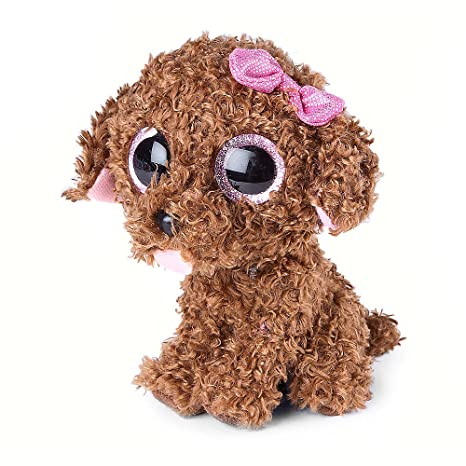 10214232142 Image Unavailable. Image not available for. Color  Claire s Accessories Ty  Beanie Boos Plush Maddie the Dog ...