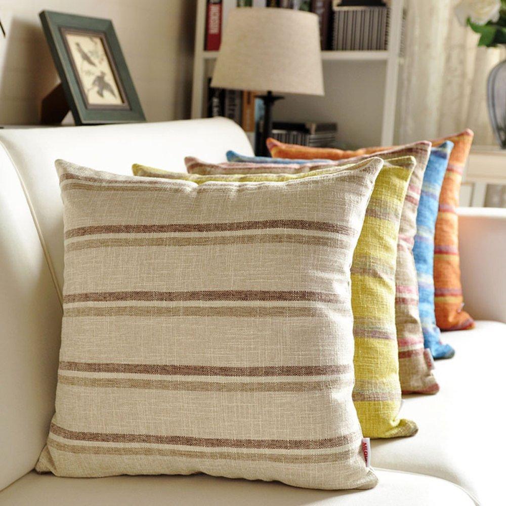 Gepolsterte Leinen Kissen Kissen Sofa Büro Bett Kissenbezug Größe Größe Größe Kissen Auto Zurück Benutzerdefinierte XXPP B078YWDP6N Kissen b9709a