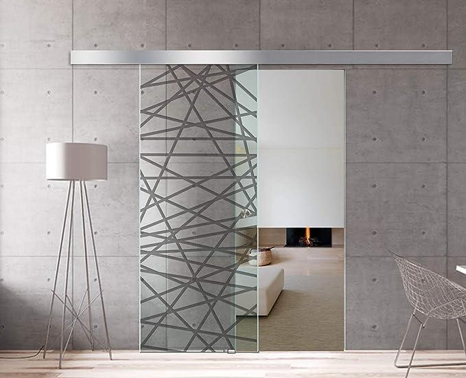 Modern Glass Art - Puerta de cristal deslizante para Boss de ...