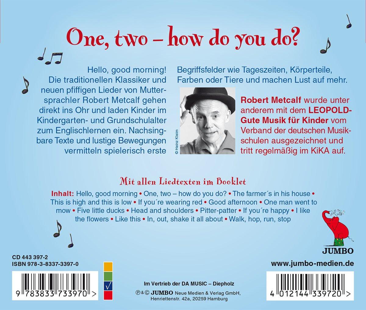 ROBERT METCALF - One, Two-How Do You Do - Amazon.com Music