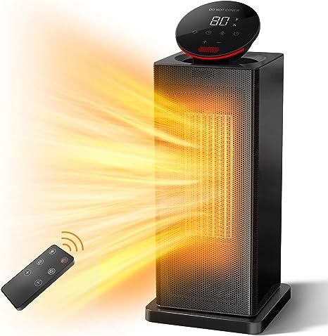 ALROCKET Space Heater 1500W PTC Heater With E