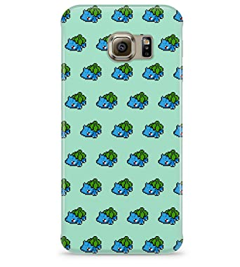 265372dde 8 Bit Pokemon Pixel Bulbasaur Ivysaur Venusaur Pattern Hard Plastic Snap On  Back Case Cover For Samsung Galaxy S6 Edge: Amazon.co.uk: Electronics