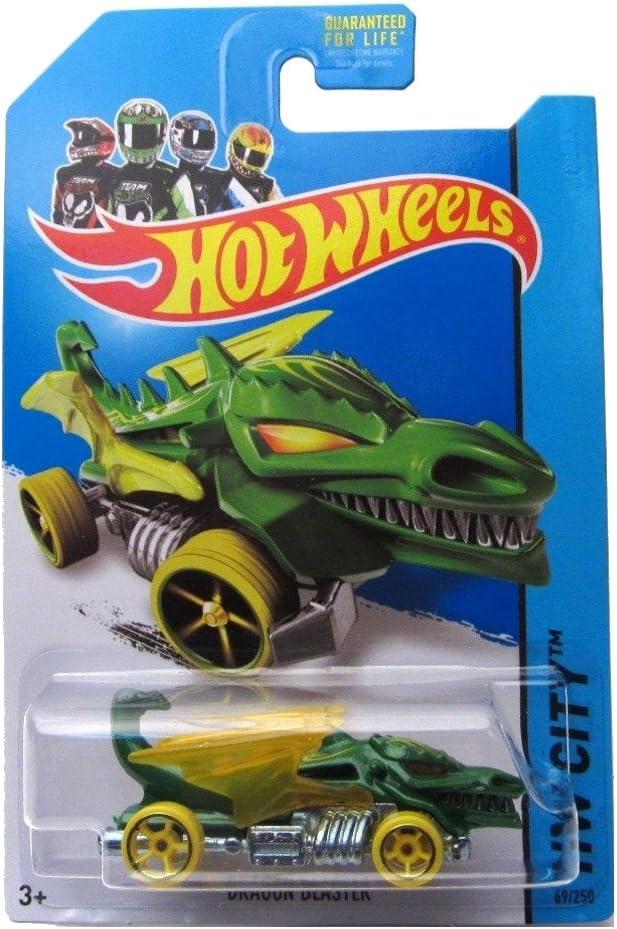 Dragon Blaster 14 Hot Wheels 69/250 (Verde) Vehículo: Amazon.es: Juguetes y juegos