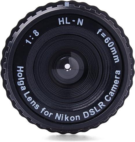 Genuine HOLGA HL-N Lente 60mm f/8 Standard para Nikon Digital SLR ...