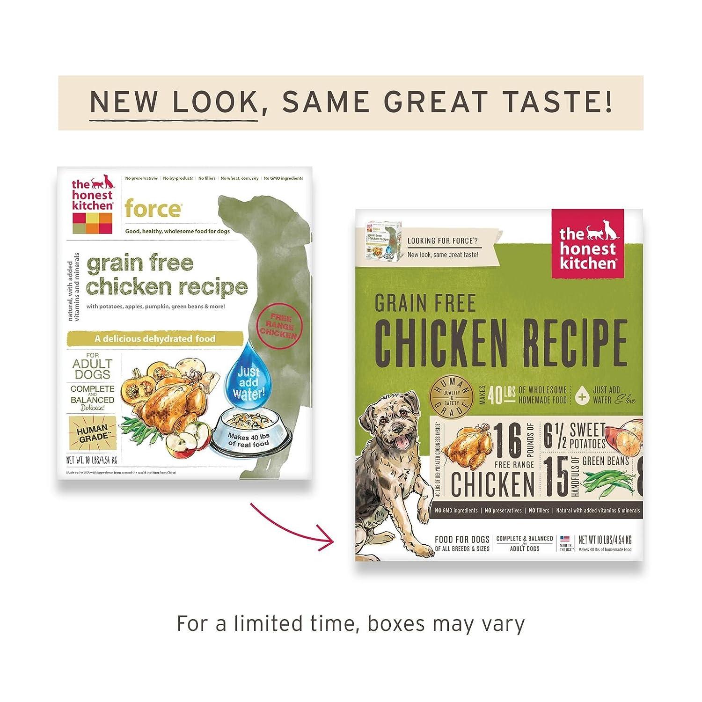 amazon com honest kitchen human grade dehydrated grain free rh amazon com