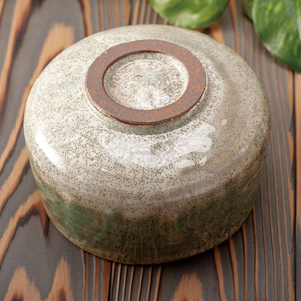 Minoyaki Shikibu Deep Forest Matcha Bowl''Ochawan'' (Made in Japan) by Ale-Net (Image #3)