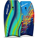 Wavestorm 40' Bodyboard 2-Pack, Blue red and Blue Yellow