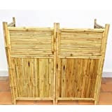Master Garden Products 4-Panel Bamboo Screen Enclosure, 24 by 48-Inch