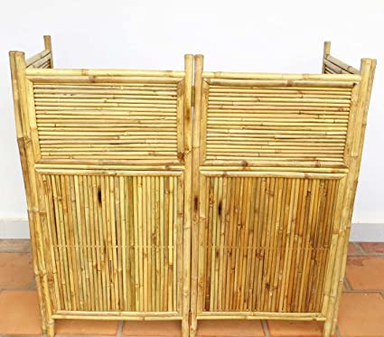 Master Garden Products 4 Panel Bamboo Screen Enclosure, 24 By 48 Inch