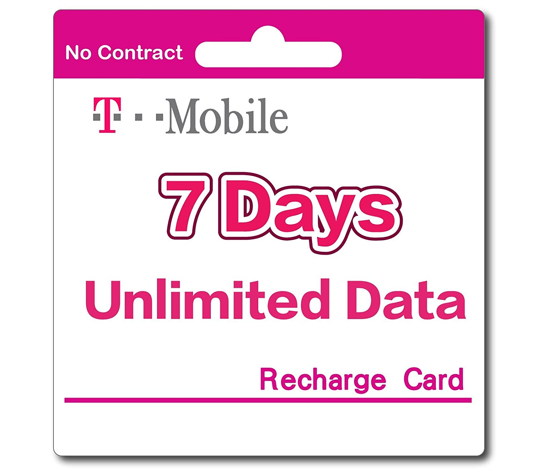 Amazon com: T-Mobile Prepaid SIM Card Unlimited Talk, Text