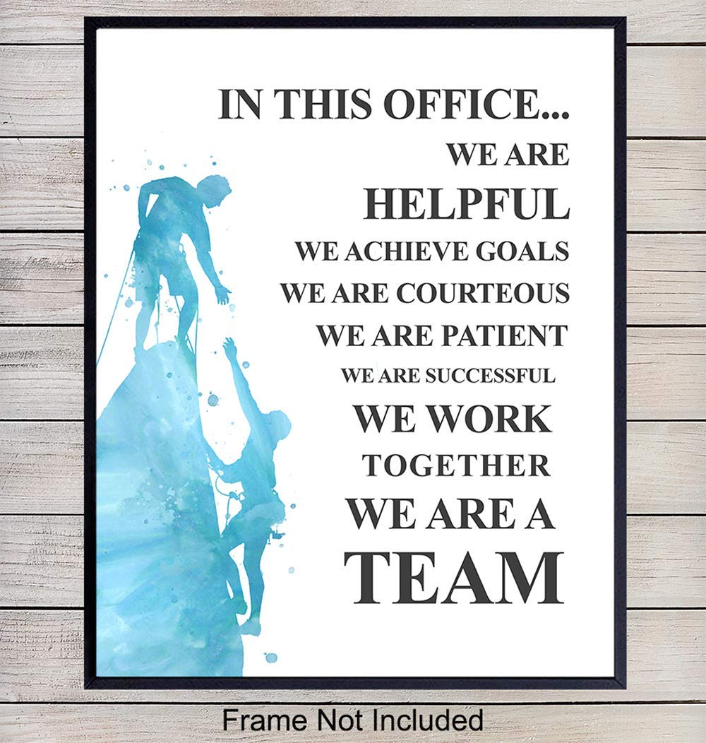 Girls Boss Motivational Inspirational Quote Poster Print Wall Art