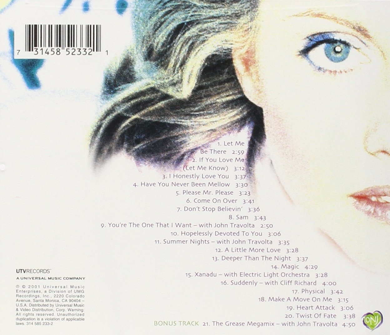 Magic: The Very Best of Olivia Newton-John by MCA