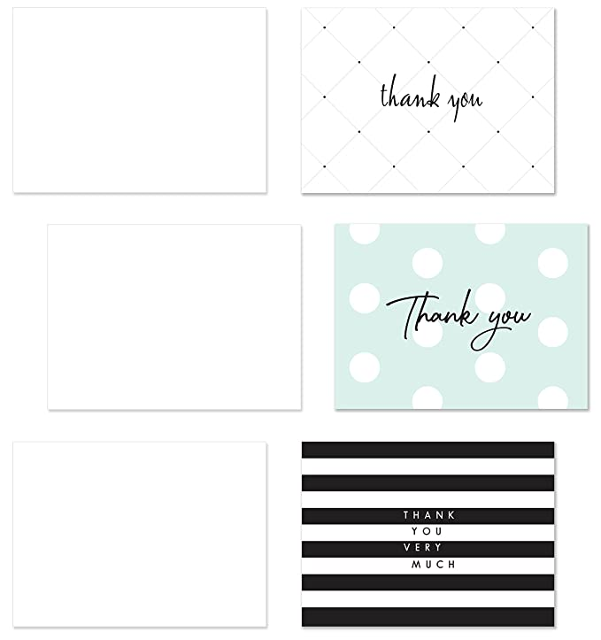 Thank You Cards 100 Thank You Notes With Envelopes And Sealing