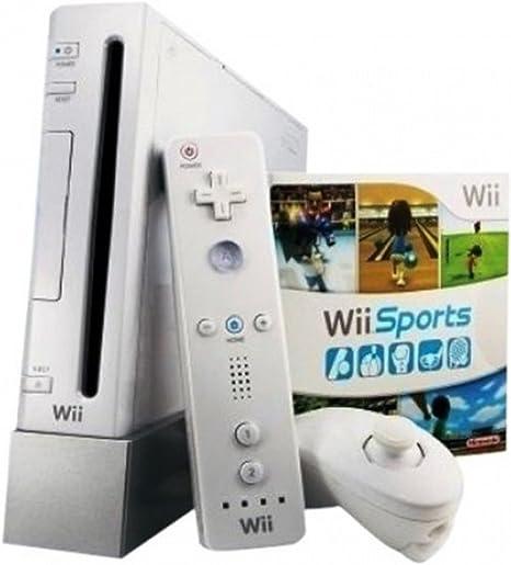 Nintendo Wii White Console (NTSC) - RVL-001 - with Gamecube Ports by Nintendo: Amazon.es: Videojuegos