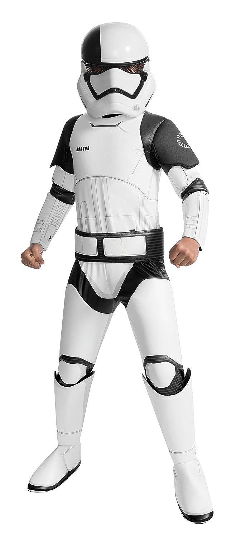 Star Wars Carga Niños de Disfraces de Super Deluxe Verdugo Trooper Jedi Batas 5-Piece Amortiguador 2tlg puños cinturón máscara Blanca